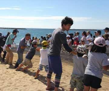 須磨海岸で遊ぼう会