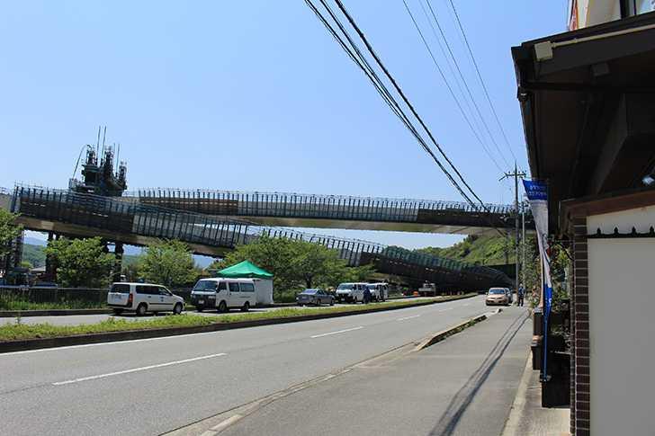新名神高速道路橋桁落下事故1