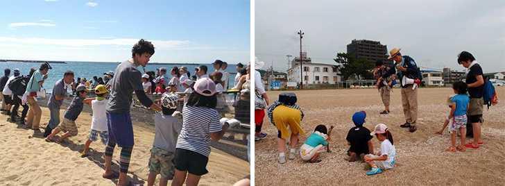 須磨海岸で遊ぼう会1