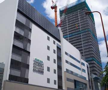 明石駅前南地区第一種市街地再開発事業工事現場見学会