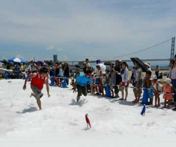 OkuraBeach海の雪まつり